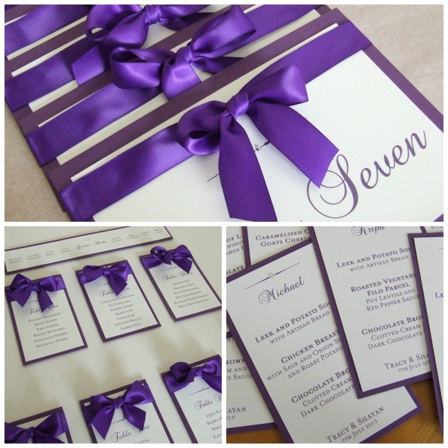 Table Plan and Table Numbers