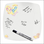 flipflop wedding message plate