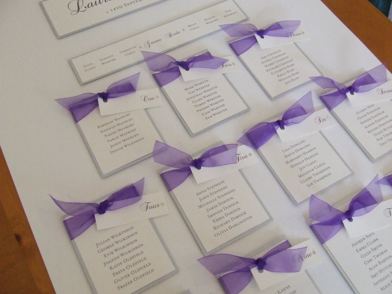 table plans for weddings