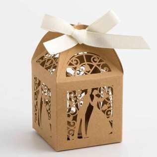 kraft-bride-and-groom-filigree-favour-box