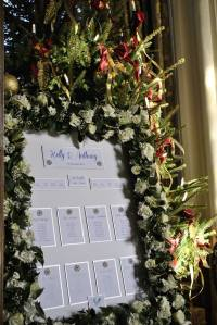 snowflake wedding table plan
